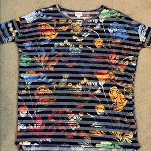 LuLaRoe XS Irma tunic top